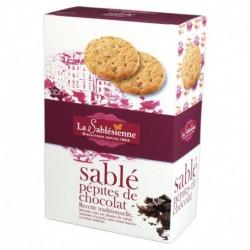 Biscuit sablé aux pépites de chocolat